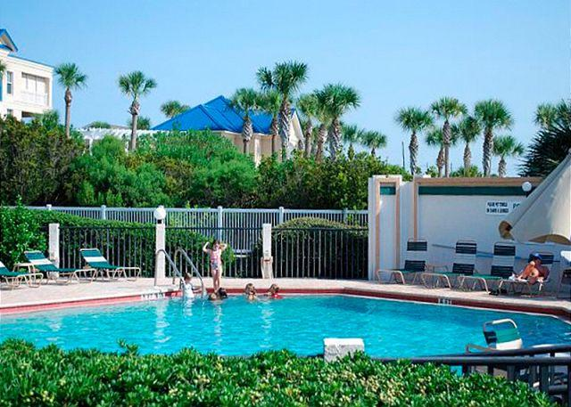 Windjammer is packed with amenities - Windjammer 107 Luxury Beach Front, Newly Updated, Elevator, HDTV - Saint Augustine - rentals