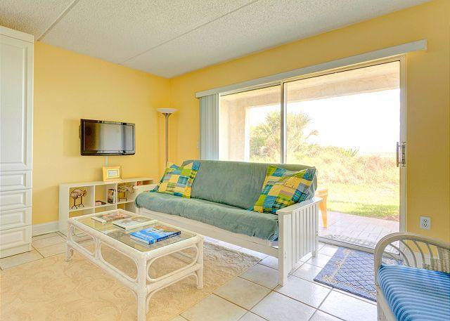 You'll find the right place to be - inside or out - Four Winds OceanFront I-10D, Ground Floor Unit, HDTV, Wifi, 2 Heated Pools - Saint Augustine - rentals