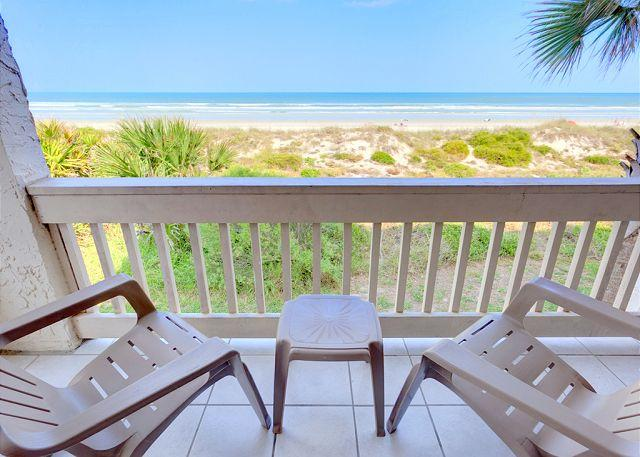 Breathe deep and enjoy the view - Four Winds I-10A, Luxury Beach Front, 3 Bedrooms, 2 Heated Pools - Sleeps 10 - Saint Augustine - rentals