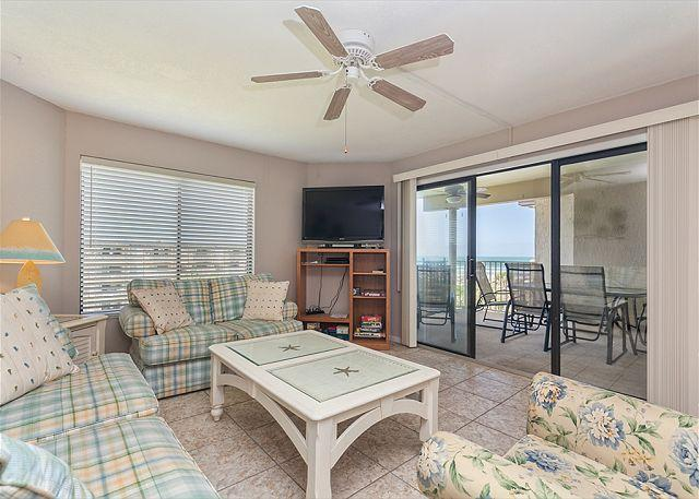 Our beach chic condo awaits you! - Colony Reef 1407, 4th floor, 3 Bedrooms, Heated Pool, all new HDTVs - Saint Augustine - rentals