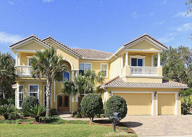 Indulge all of your senses at Versailles By The Sea - Versailles by the Sea, Ocean Hammock, 8 Bedrooms, Elevator, Heated Pool, Spa - Palm Coast - rentals