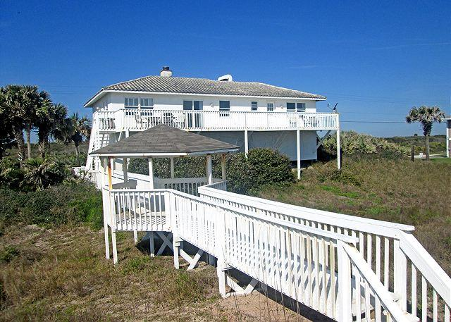 Your very own boardwalk to the beach, complete with gazebo! - Ponte Vedra Morning Star Beach House, 4 bedroom - Ponte Vedra Beach - rentals