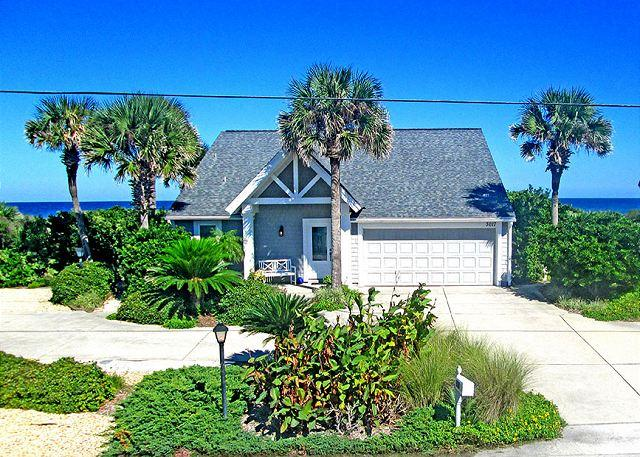 From the front you know it is beautiful... - Ashley Beach House, Luxury 3 Bedroom Beach Front, Ponte Vedra Beach - Ponte Vedra Beach - rentals