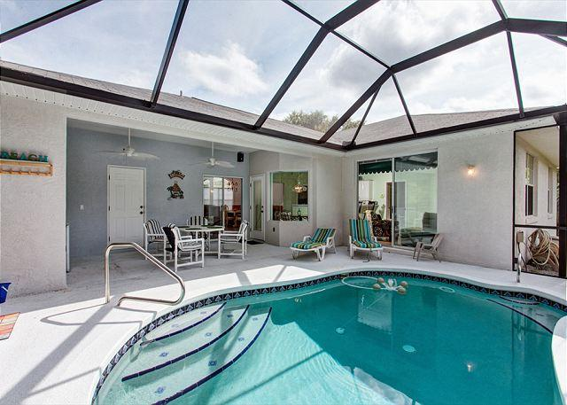 Let the sunshine in! - Coastal Cove, 3 bedrooms, pool, near ocean - Palm Coast - rentals
