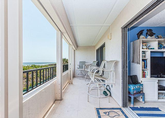 A Great Gathering Place - Windjammer 104 Luxury Beach Front, Newly Updated, Elevator, Pool, HDTV - Saint Augustine - rentals