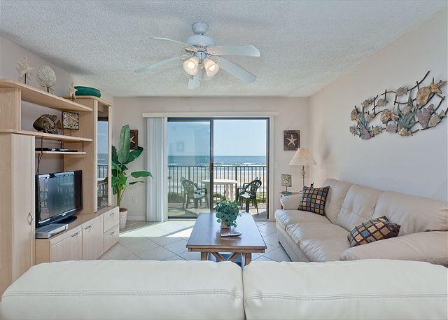 Ocean views and coastal elegance! - Summerhouse 162, Ocean Front, Updated, 4 pools, tennis, gym - Saint Augustine - rentals