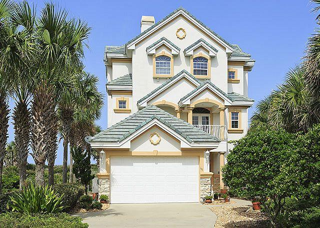 The belle of the beach is here! - Beach Belle, Luxury Ocean Front, 4 bedrooms, elevator, private pool - Palm Coast - rentals