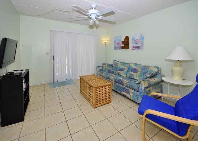 Cool condo living is a perfect family vacation option - Ocean & Racquet 5114, Ground Floor, 2 Pools, Spa, - Saint Augustine - rentals