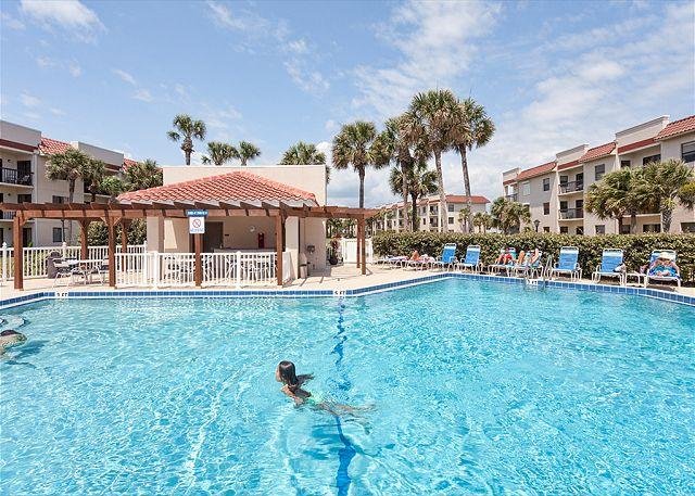 "Jump into our oceanfront pool - Ocean Village K11, Ground Floor, Corner Unit, Newly Updated 40"" HDTV, WiFi - Saint Augustine - rentals"