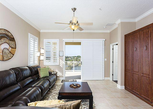 From the living room you can see the lake and beyond! - Cinnamon Beach 941, 3 BRs, 3BAs, 2 heated pools, spa, HDTV, wifi, sleep 11 - Palm Coast - rentals