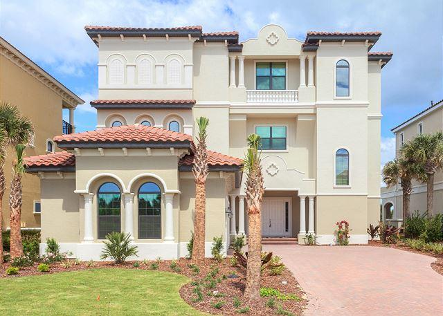 Mandarin Grace is gold-rated and sleeps 14 guests - Mandarin Grace, Ocean Front, 7 Bedrooms, Pool, Spa, Elevator, - Palm Coast - rentals