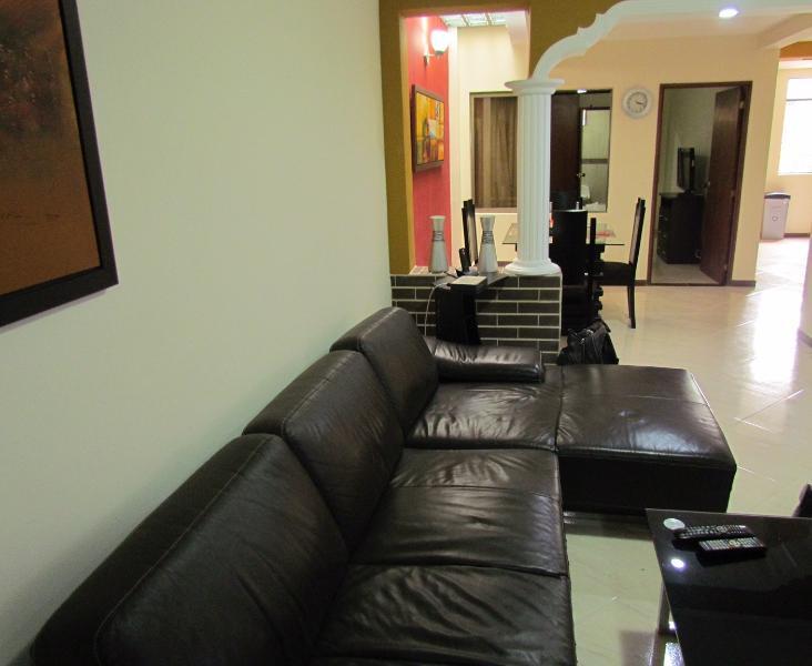 3 bedroom with AC in living room Lleras Terrace - Image 1 - Medellin - rentals