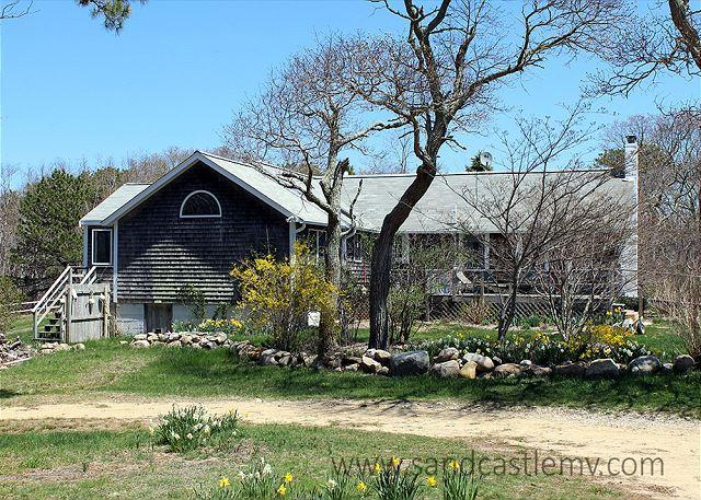 SHADES OF OLD CHAPPAQUIDDICK STYLE WITH WATERVIEWS OF THE SOUND - Image 1 - Chappaquiddick - rentals