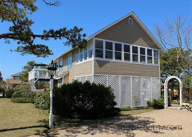 ENJOY WATERVIEWS AND WALK TO THE BEACH FROM THIS LOVELY HOME. - Image 1 - Chappaquiddick - rentals