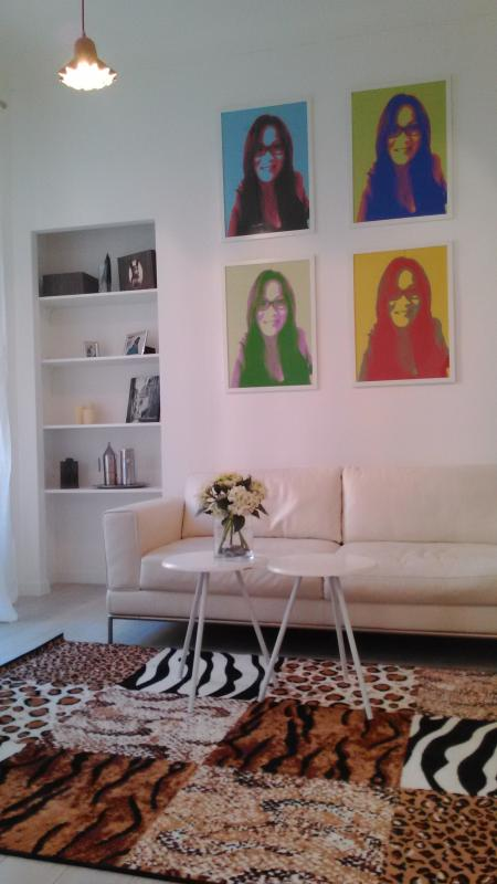 fashin designed living space - lovely loft in heart of Nice center - Nice - rentals