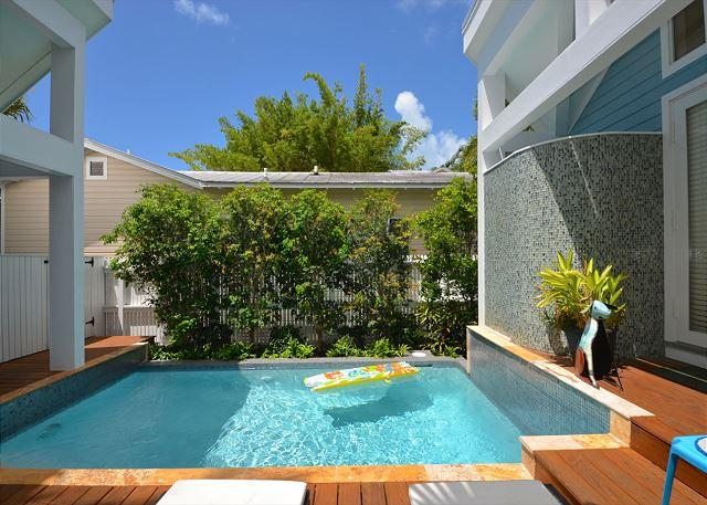 """CLUB CLARK"" Gorgeous 3 Bd 3 Bth Home w/ Pvt Pool. Close to Dante's! - Image 1 - Key West - rentals"