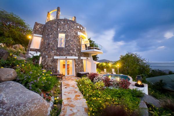 A sugar mill replica, this villa showcases creative architecture with a contemporary twist. MAV SUG - Image 1 - Saint John - rentals