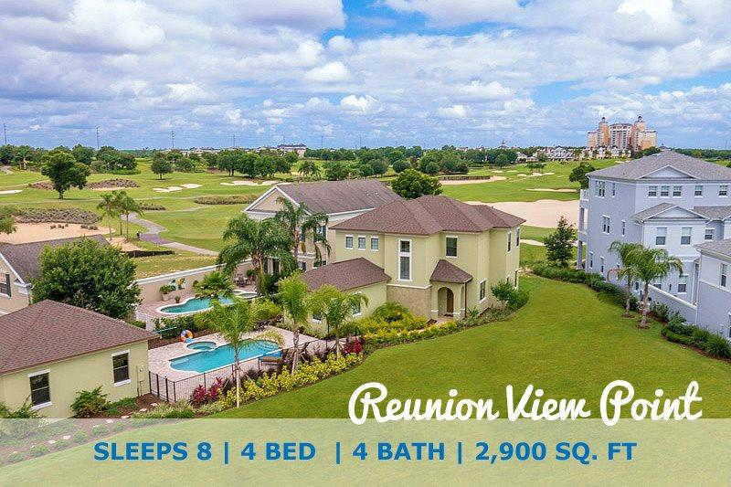 Welcome to your magical home away from home Reunion View Point - Reunion View Point | 4 Bed Pool Home | Reunion Resort - Kissimmee - rentals