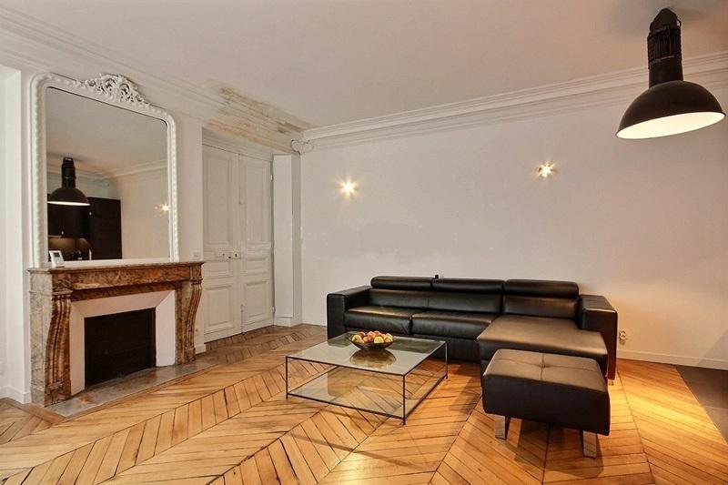 One bedroom apartment within Hotel Particulier - Image 1 - Paris - rentals