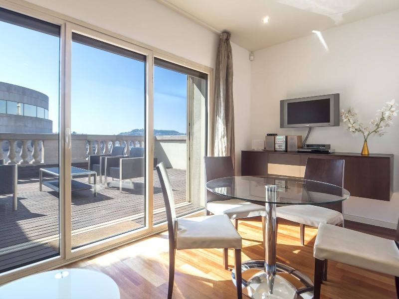 Living Room Upper Floor - Plaza Catalunya Terrace Penthouse - Barcelona - rentals