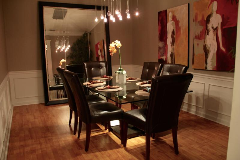 Fabulous dining room! - Huge Lake View Loft Style Penthouse on Vista Cay - Orlando - rentals