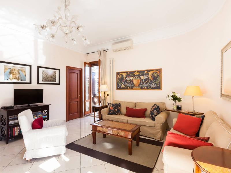 Perfect Spanish Steps-Terrace AC WashDry Flaminio - Image 1 - Rome - rentals