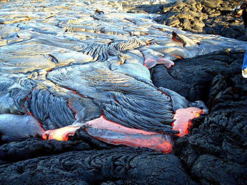 See the lava flow in action! - Great Snorkel in Warm TidePool 25%Off  Jul 2015 - Pahoa - rentals