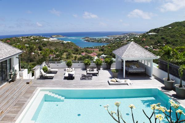 Lovely Swedish design villa with splendid view over Marigot Bay WV KAM - Image 1 - Marigot - rentals