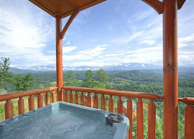 Enjoy the BEST View in ALL of PIGEON FORGE! - Luxury 2bedroom Cabin Legacy Resort Pigeon Forge TN 2miles to Dollywood - Sevierville - rentals
