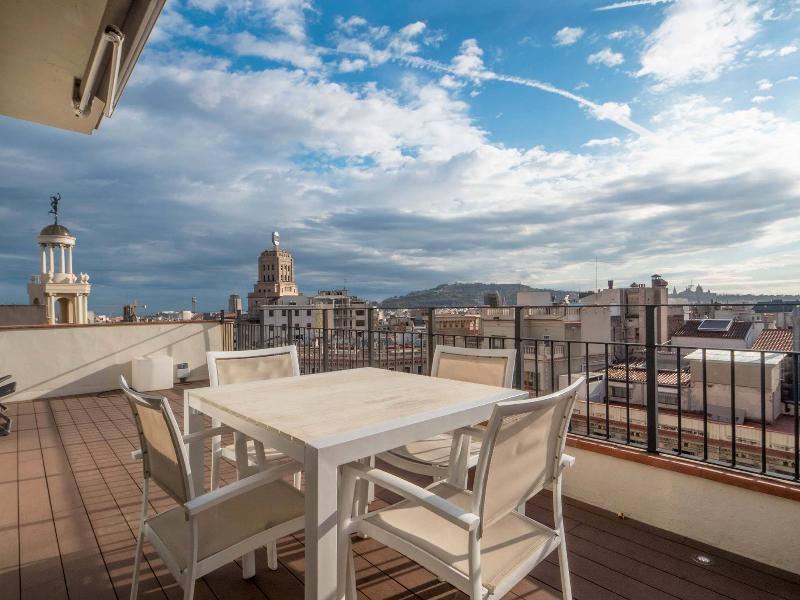 Terrace - Las Ramblas Penthouse with Terrace II - Barcelona - rentals