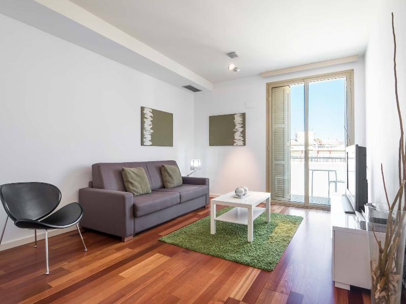 Living Room - City Centre New Apartment w/Balcony - Barcelona - rentals