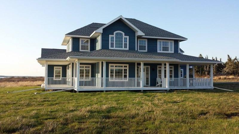 Main House Side View - Where You Can Watch The Boats Sail By During The Lazy Days Of Summer! - Ocean Hermit House - Lower West Pubnico - rentals
