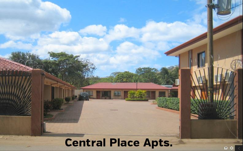 Entrance to the Central Place complex - Central Place, spacious and centrally located - Playas del Coco - rentals