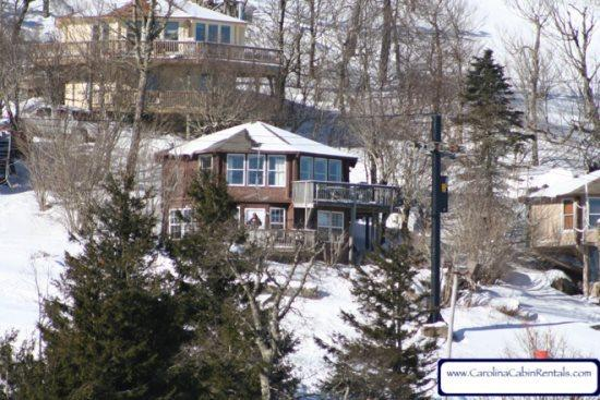 Mile High Cabin is slopeside making it great ski in ski out - Mile High Cabin - Beech Mountain - rentals