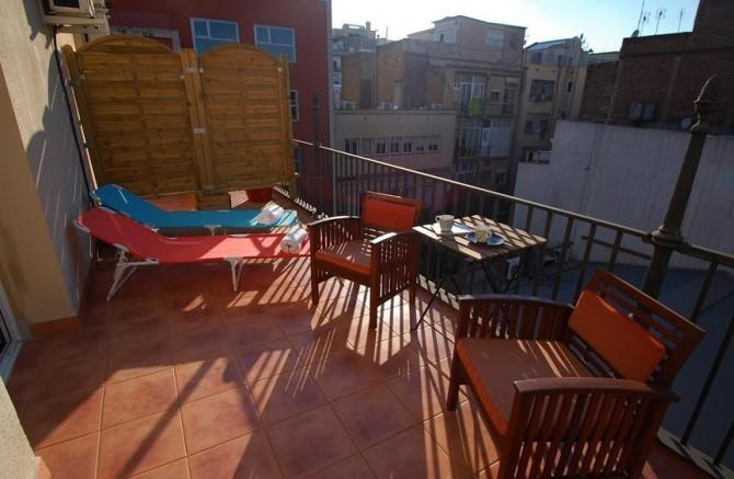 Top Floor Penthouse Suite - Image 1 - Barcelona - rentals
