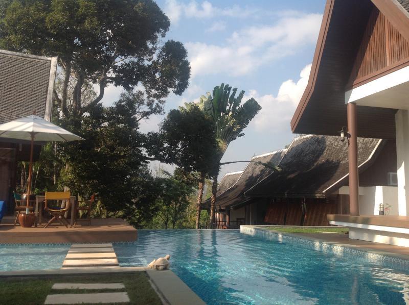 9x6 mxm Private pool plus children pool - De Chom 4 bedroom villa with private pool - Khok Kloi - rentals