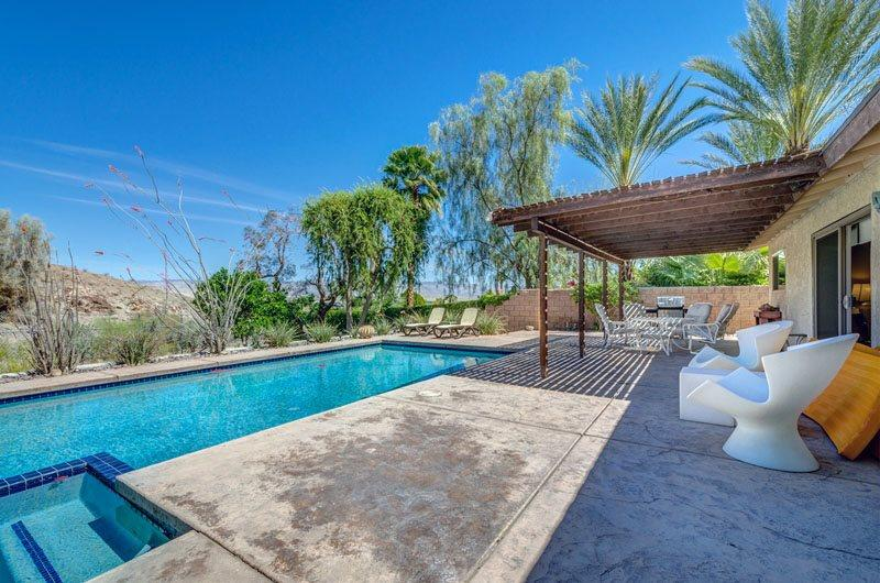 Another Pool and Patio View - A Pool House for Nature Lovers - Cathedral City - rentals