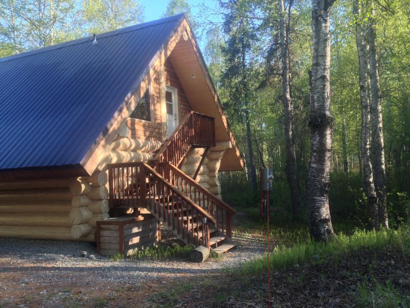 "The Loft Cabin - Downtown Area - ""The Loft"" Cabin w/  Tree-top View, Near Downtown - Talkeetna - rentals"