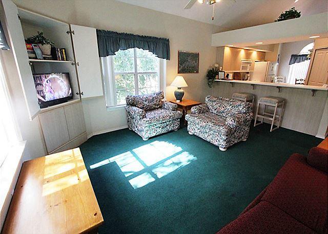 Living Room - Fall Into Branson- 3 Bedroom, 3 Bath Condo on Lake Taneycomo - Branson - rentals