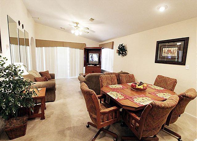 Living Room - The Leading Edge- 2 Bedroom, 2 Bath, Golf View Condo - Branson - rentals