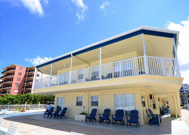 Sea Rocket 28 -Totally Remodeled second floor, one bedroom with Gulf View! - Image 1 - North Redington Beach - rentals