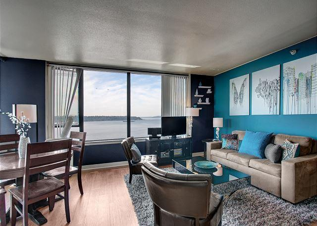Water Views and Amenities! Your ideal urban vacation with Sea to Sky Rentals - Image 1 - Seattle - rentals