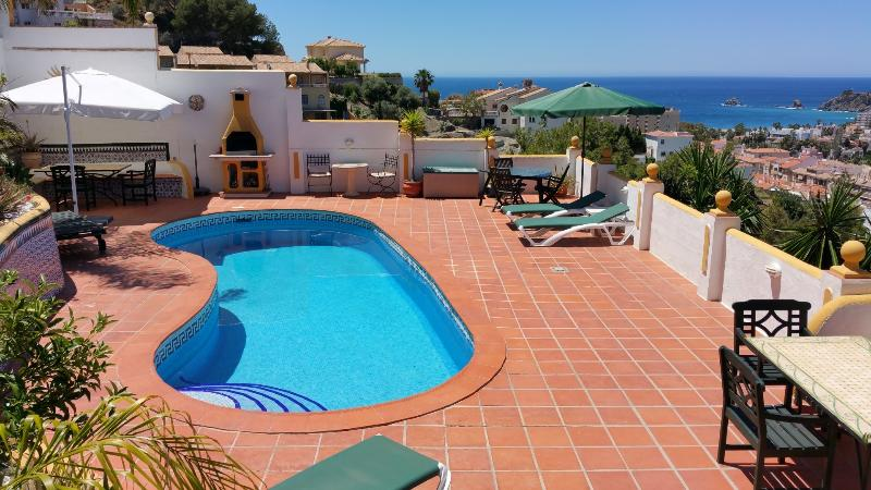 Pool - Luxury Apartment El Olivo with fantastic sea views - Almunecar - rentals