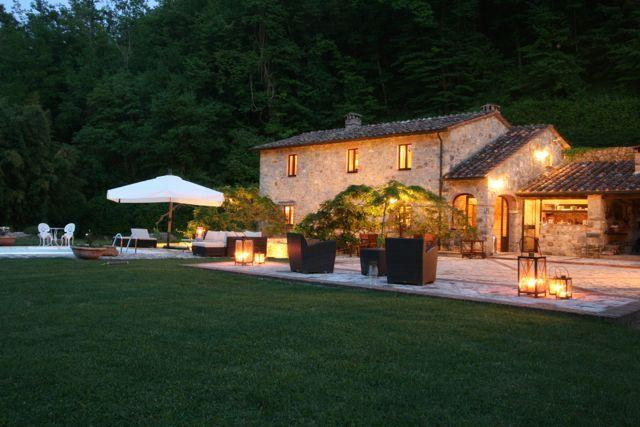 Luxury Country Villa with Saline Pool & Spa - Image 1 - Castelnuovo di Val di Cecina - rentals