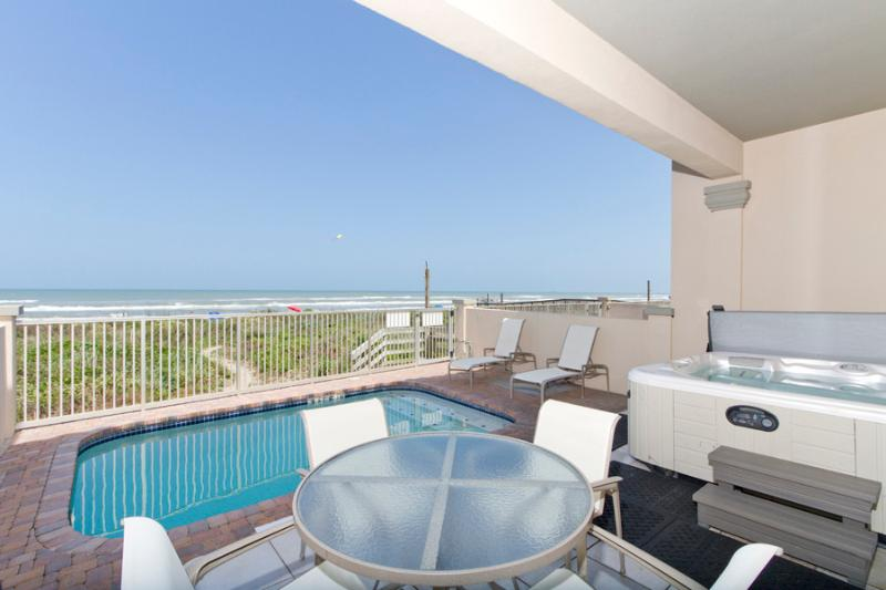 Casa Cabo San Lucas Private Beachfront Patio With Pool, Gas Gril, & Hot Tub - The Crown Jewel of Beach Front 4 Bedroom Homes - South Padre Island - rentals