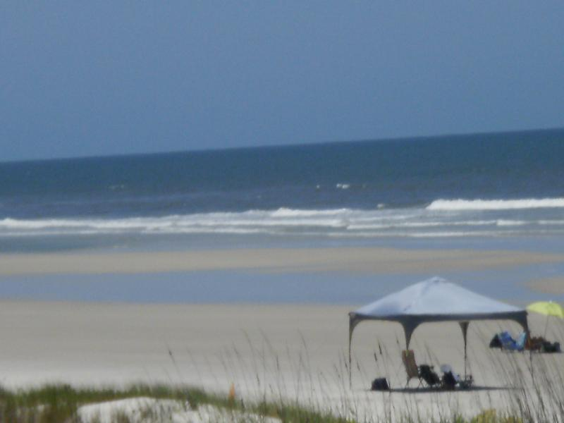Ocean view From Sand Dune Boardwalk - Beautiful  2 Bed/ 2.5 Bathroom Oceanview Townhouse located on St. Augustine Beach - Crescent Beach - rentals