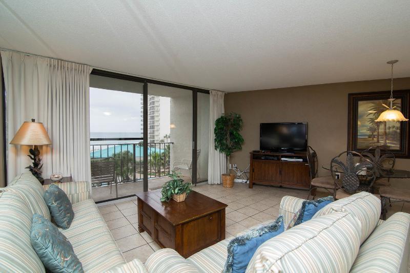 Living Room - Edgewater Beach Resort,Panama City Beach,FL 2br2ba - Panama City Beach - rentals