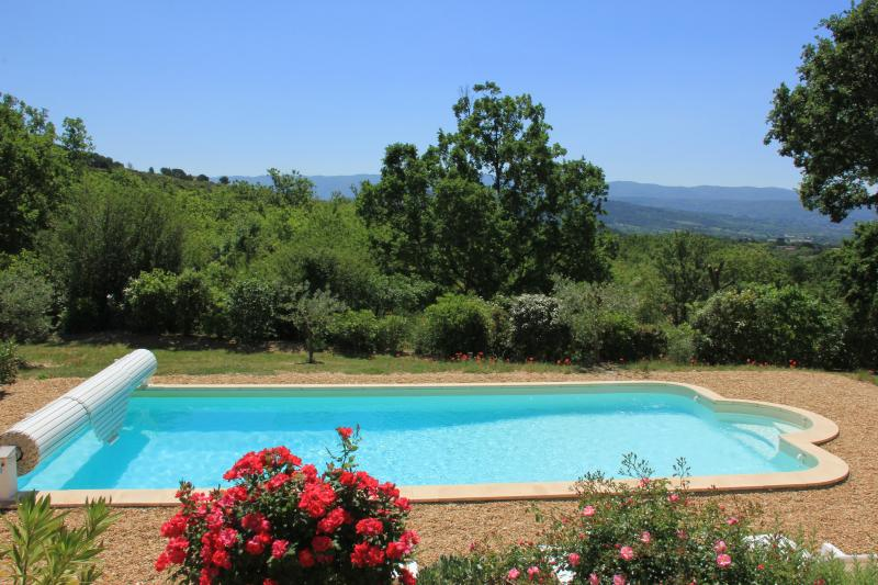 Luberon Vacation Rental with Private Pool, WiFi, Fabulous Views, and Walk to Village - Image 1 - Saint-Saturnin-les-Apt - rentals