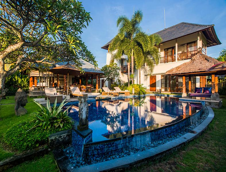 Villa AyoKa pool and buildings - AyoKa, ocean view villa in the south of Bali - Tabanan - rentals
