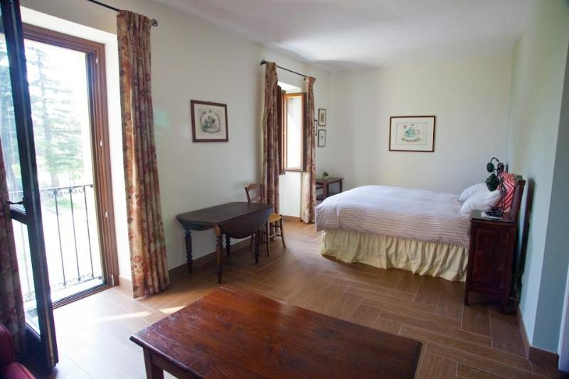 The Guest bedroom is comfortably furnished. - Piedmont Farmhouse B&B, Italy - Calamandrana - rentals